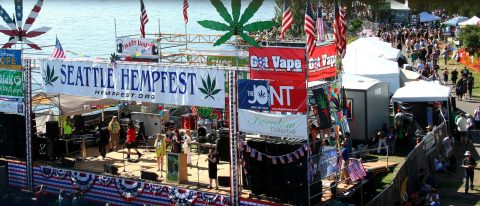 How to Survive Seattle Hempfest