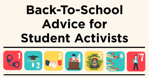 Back-to-School Advice for Student Activists