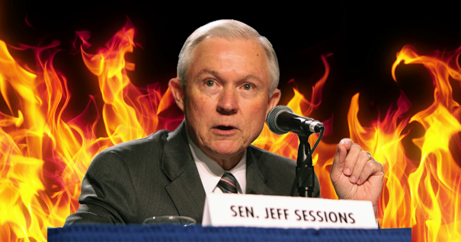 jeff sessions fire senator attorney general marijuana cannabis freedom leaf magazine news