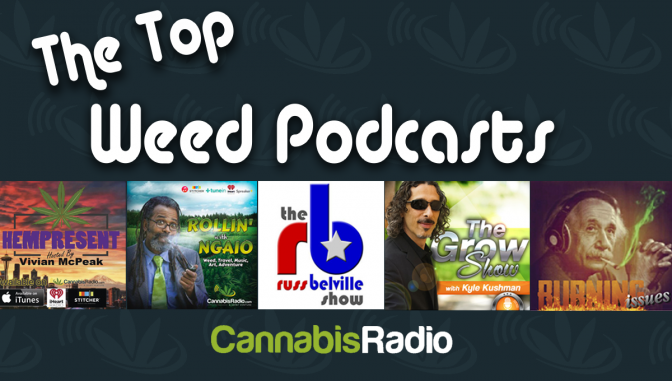 Cannabis Radio Top Weed Podcasts Marijuana News Freedom Leaf Magazine NORML cannabisradio
