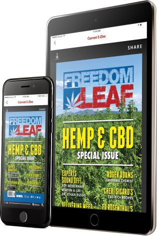 Freedom Leaf Magazine App