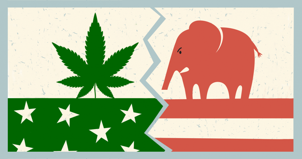conservatives and cannabis freedom leaf