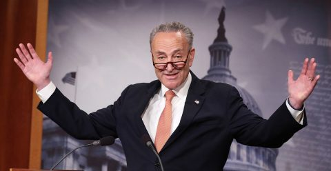 Senate Leader Schumer Calls for Federal Decriminalization of Marijuana