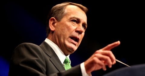 They Say It's an Evolution: On John Boehner's Cannabis Switcheroo
