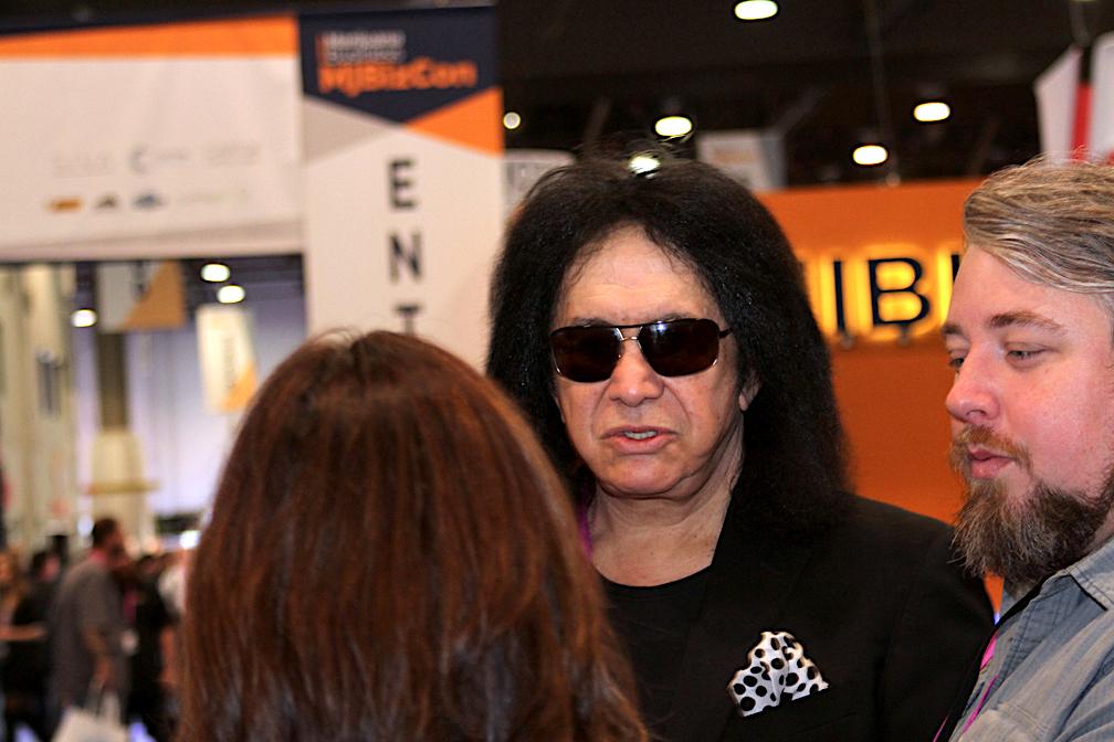 Gene Simmons of KISS at MJ Bizon