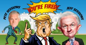 Jeff Sessions image by Donkey Hotey via Flickr