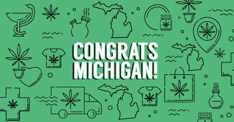 Michigan Marijuana Supporters to Celebrate Legalization at Midnight