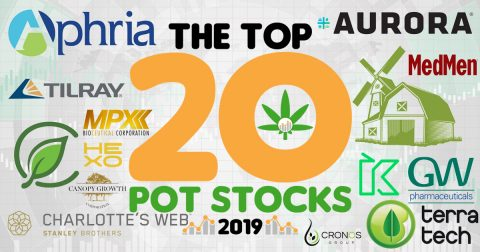 The Cannabis Industry's 20 Hottest Pot Stocks of 2019