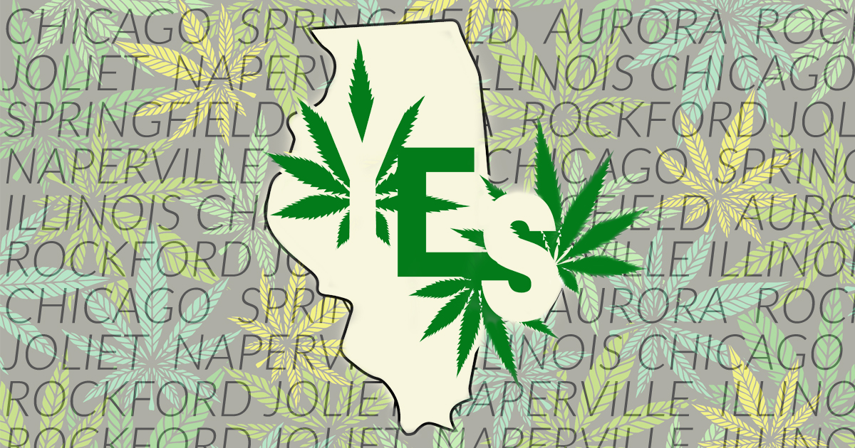 Illinois Inches Towards Recreational Marijuana Legalization
