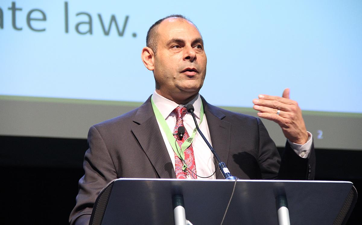 Ed Messina of the U.S. Environmental Protection Agencyspeaks at PA Hemp Summit