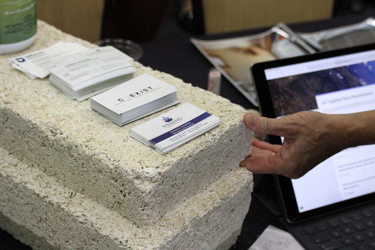 Hempcrete at the PA Hemp Summit