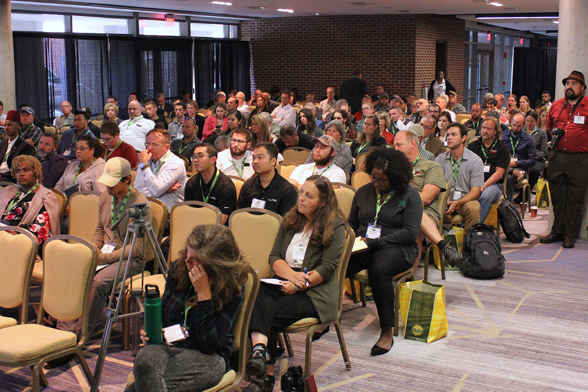 Panel audience at PA Hemp Summit