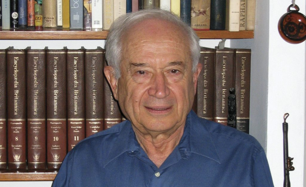 Professor Raphael Mechoulam is also known as The Father of Cannabis